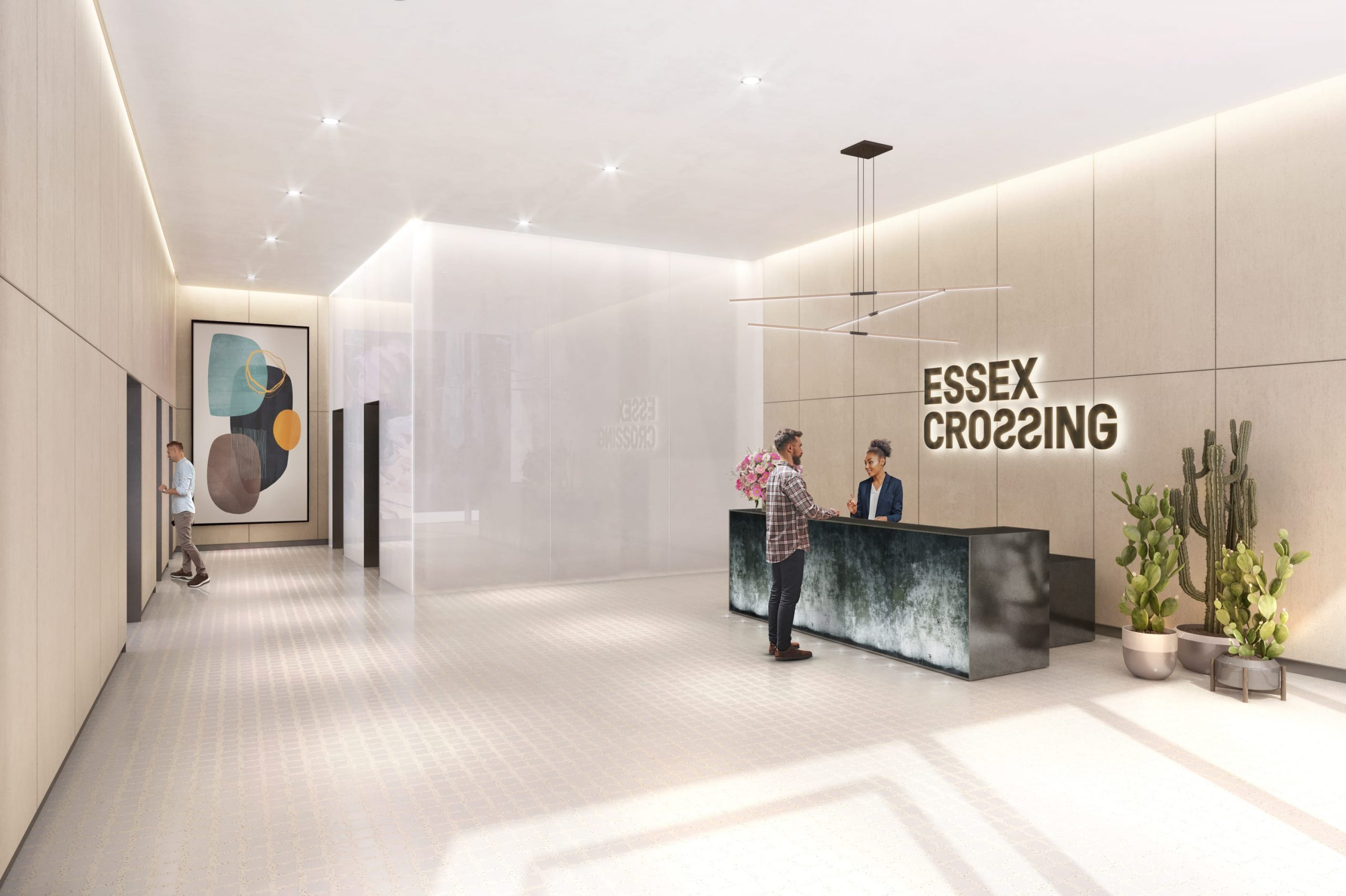 155 Delancey Street | Exclusive Office Lobby